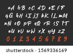 calligraphy hand written...   Shutterstock .eps vector #1569336169
