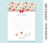 christmas letter from santa...   Shutterstock .eps vector #1569421180