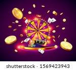 the wheel of fortune  roulette  ...   Shutterstock .eps vector #1569423943