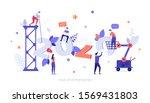 infographic banner template... | Shutterstock .eps vector #1569431803