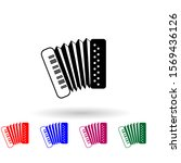 accordion multi color icon....