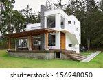big modern house | Shutterstock . vector #156948050