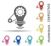 bulb  gear  light in multi...