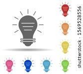 bulb  light in multi color...