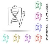dna  genetically  biology in...