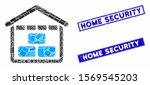 mosaic warehouse icon and... | Shutterstock .eps vector #1569545203