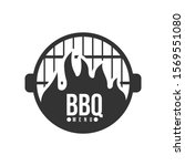 barbecue and grill label. bbq... | Shutterstock .eps vector #1569551080