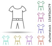 combined clothes in multi color ...