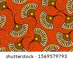 african fashion seamless... | Shutterstock .eps vector #1569579793