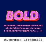 strong bold modern font effect  ... | Shutterstock .eps vector #1569586873
