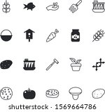 nature vector icon set such as  ... | Shutterstock .eps vector #1569664786
