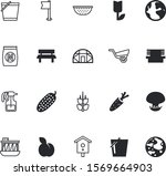 nature vector icon set such as  ... | Shutterstock .eps vector #1569664903