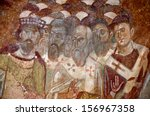 Detail Of An Ancient Byzantine...