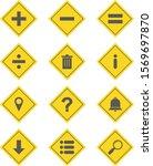 12 basic elements icons sheet... | Shutterstock .eps vector #1569697870