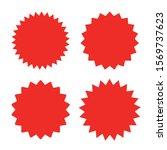set of design elements red...   Shutterstock .eps vector #1569737623