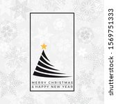 merry christmas and happy new... | Shutterstock .eps vector #1569751333