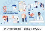 health insurance concepts and... | Shutterstock .eps vector #1569759220