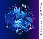 programming web banner. best... | Shutterstock .eps vector #1569823126