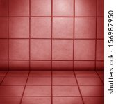 Red Wall Tiles Interior