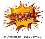 pow comics poster. thought... | Shutterstock .eps vector #1569919429