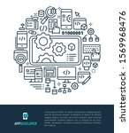 vector logo and graphic... | Shutterstock .eps vector #1569968476
