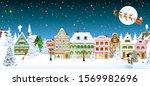houses  city  church  spruce....   Shutterstock .eps vector #1569982696