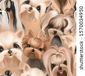 Cute Dogs  Puppy  Pets Seamles...