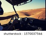 Driving Quad Buggy Car At...