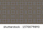 abstract decorative geometric...   Shutterstock . vector #1570079893