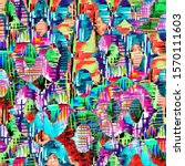 abstract texture repeat modern...   Shutterstock . vector #1570111603