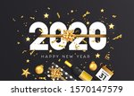 happy new year 2020 greeting... | Shutterstock .eps vector #1570147579