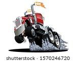 cartoon semi truck. available...   Shutterstock .eps vector #1570246720