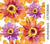 Stylized Gerbers Flowers...