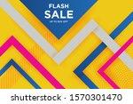 vector abstract background... | Shutterstock .eps vector #1570301470