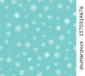 Vector Snowflakes Background....