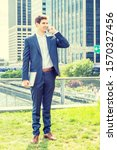 Young Businessman Traveling ...