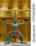 Statue Of Tot Sakan At The...