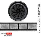 illustration films and lens on...