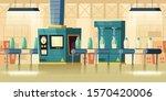 milk factory interior  glass... | Shutterstock .eps vector #1570420006
