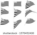 vector illustration of set with ... | Shutterstock .eps vector #1570452430