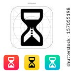 hourglass is ticking icon....