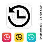 countdown icon. vector...