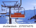 Chairlift Or Elevated Passenger ...