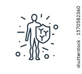 immune system icon. isolated...