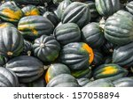 Acorn Squash On Display At The...