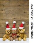 Three Teddy Bears With...