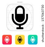microphone icon. vector...