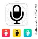 microphone icon. vector...