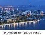 Blue Hour View Of Rio De...