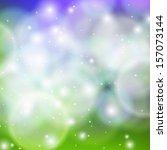 shining vector abstract bokeh... | Shutterstock .eps vector #157073144
